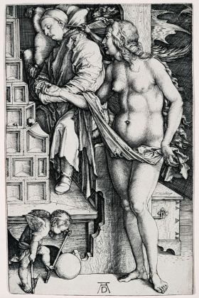 Albrecht Dürer, Il sogno del dottore, 1498 ca. Collezione privata. Photo © Mario Parodi