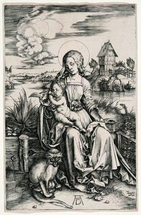 Albrecht Dürer, La Madonna della scimmia, 1498 ca. Collezione privata. Photo © Mario Parodi