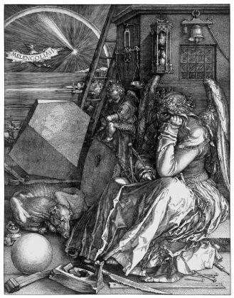 Albrecht Dürer, La Melancolia (Melencolia I), 1514. Londra, National Gallery. Courtesy Otto Schafer Stiftung der Stadt Schweinfurt