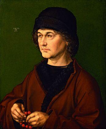 Albrecht Dürer, Ritratto di Albrecht Dürer il vecchio, 1490. Firenze, Galleria degli Uffizi. Photo © Gabinetto Fotografico delle Gallerie degli Uffizi