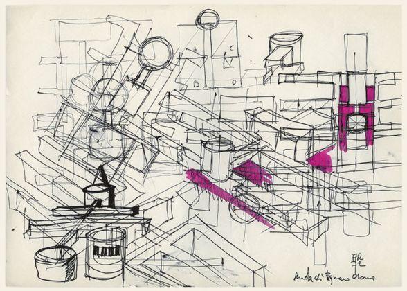 Aldo Rossi, Scuola elementare, Fagnano Olona, 1972-76. Courtesy Fondazione Aldo Rossi