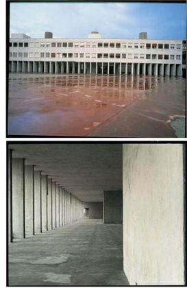 Aldo Rossi, Unità residenziale, Quartiere Gallaratese, Milano, 1968-73. Courtesy Fondazione Aldo Rossi