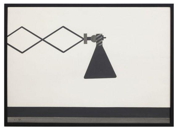 Alighiero Boetti, Lampada, 1965