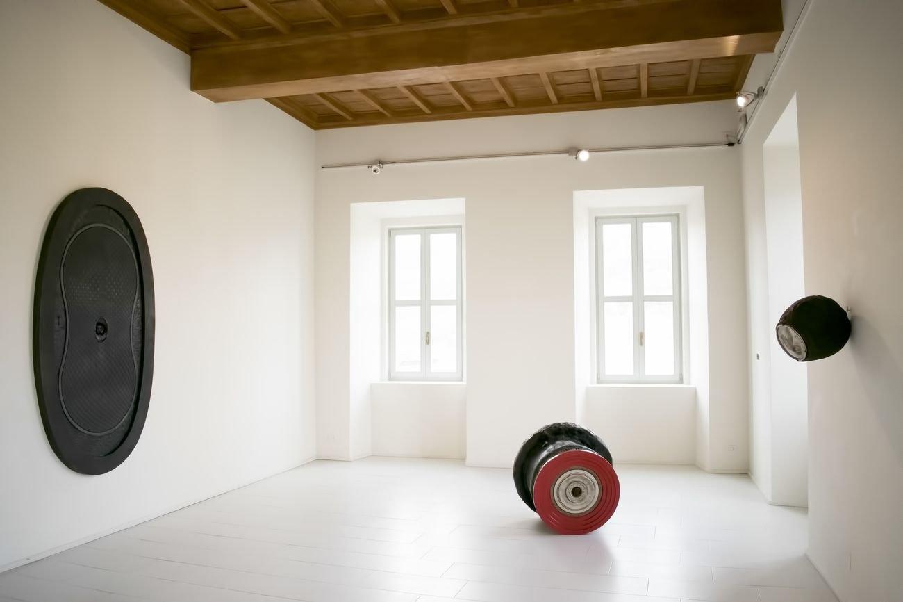 Andrea Nurcis. EXCERPTⒶ. Exhibition view at Palazzo Collicola, Spoleto 2018