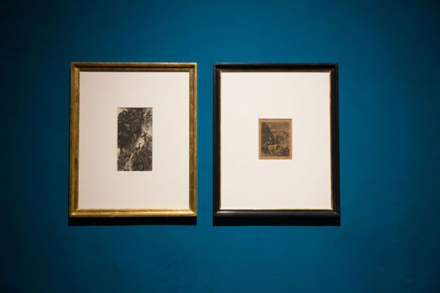 Arnold Böcklin ed Émile Boilvin. Collezione Luigi Presicce. Museo d'Inverno, Siena 2018. Photo credit Cinzia Jovine