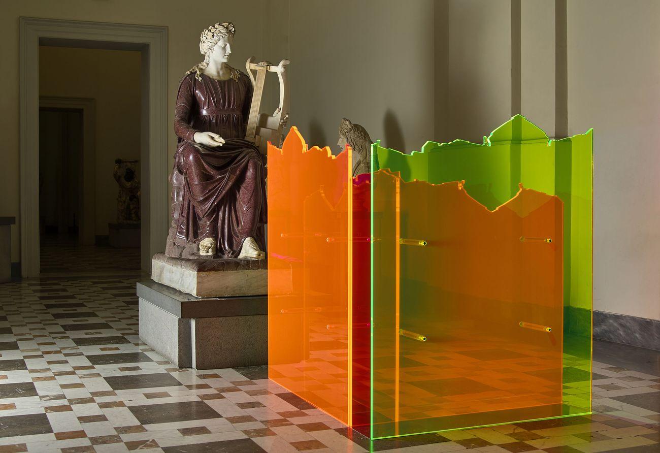 Arte contemporanea al MANN di Napoli. Francesco Candeloro, Alterni Passaggi, installation view, 2017. Photo Lorenzo Ceretta