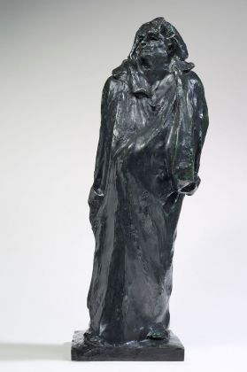 Auguste Rodin, Balzac, 1897. Parigi, musée Rodin © Musée Rodin, photo Christian Baraja