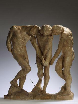 Auguste Rodin, Le tre ombre, 1897. Parigi, musée Rodin © Musée Rodin, photo Christian Baraja