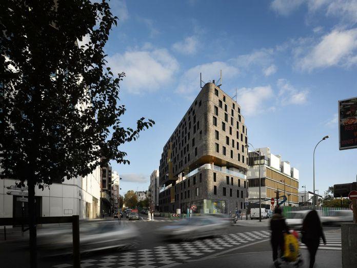 Avenier Cornejo architectes e Chartier Dalix architectes associés, ZAC des Lilas, Parigi © David Foessel