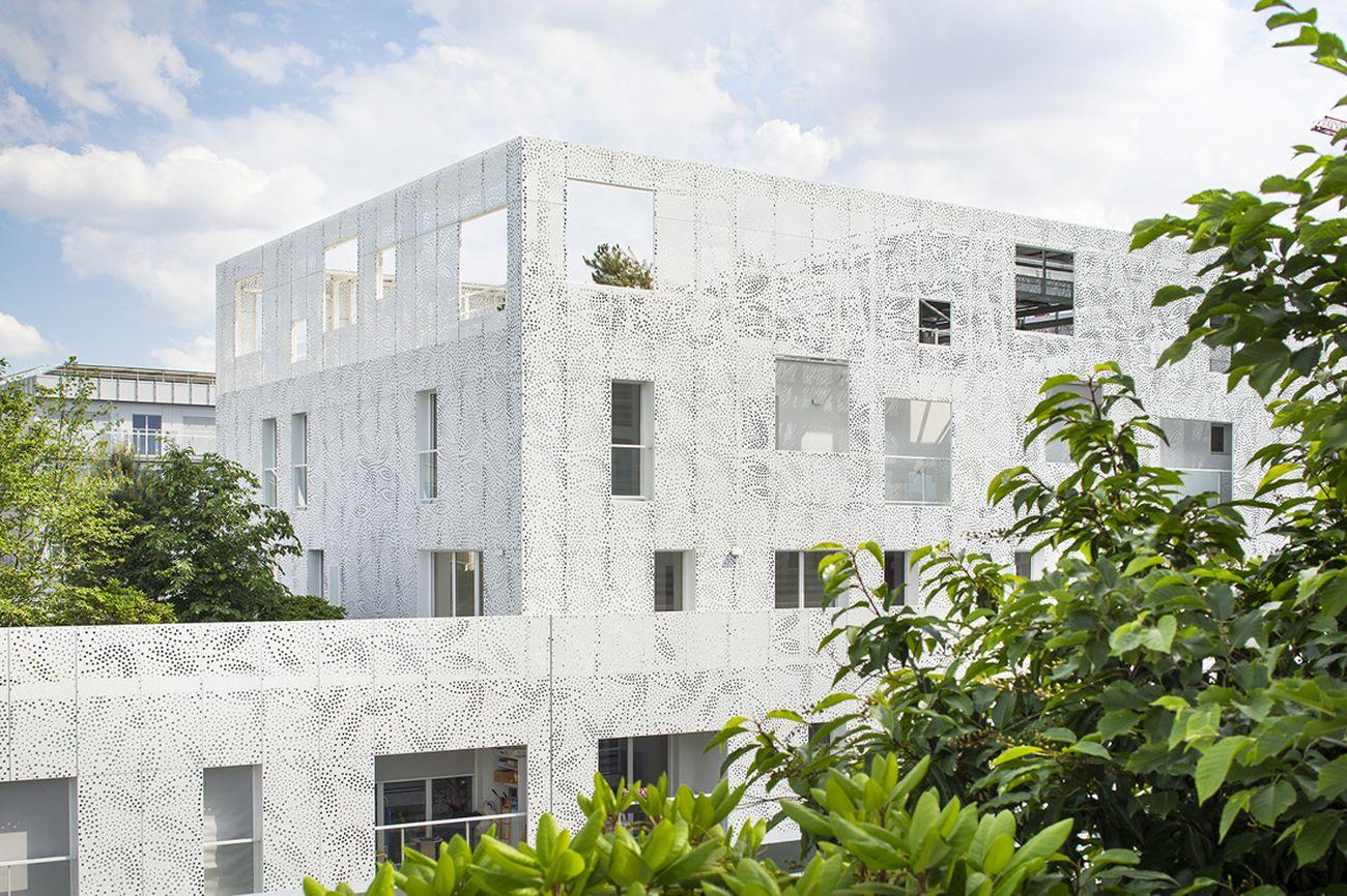 Avenier Cornejo architectes e Gausa+Raveau Actarquitectura, Lot E8, ZAC Clichy Batignolles, Parigi © Sergio Grazia