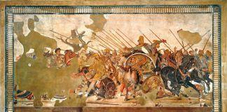 Battaglia di Isso, 100 a.C. ca., MANN, Napoli