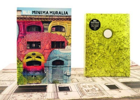 Blu, Minima muralia (Zooo Print&Press). Le due edizioni
