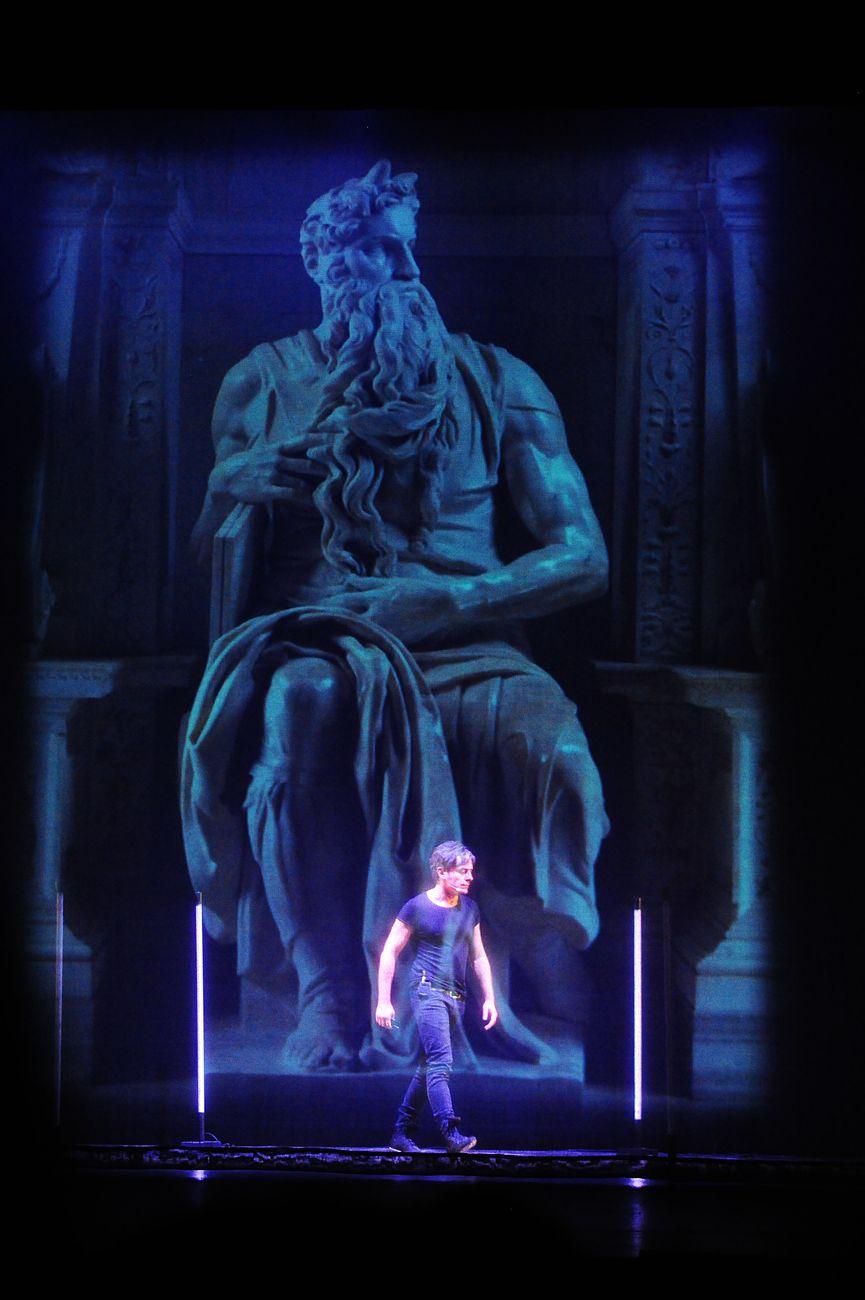 Carlo Vanoni e il Mosè di Michelangelo