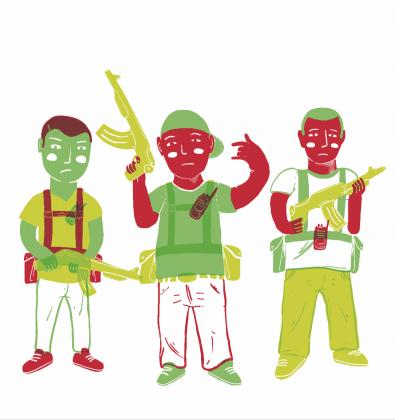 Carne de cañón: stories of narcoworkers di Daniel Benítez