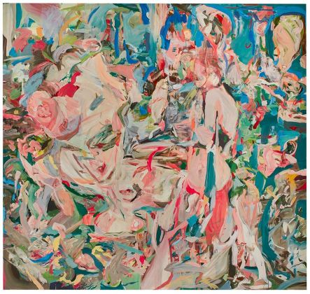 Cecily Brown, A swan comforting a snake, 2014, £ 1.209.000 (courtesy of Sotheby's)
