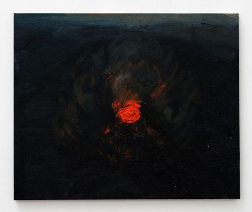 Celia Hempton, Stromboli, 900 Metres, 21st July 2017, 2017. Courtesy Galleria Lorcan O'Neill, Roma