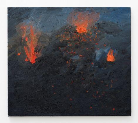 Celia Hempton, Stromboli, 900 Metres, 5th July 2017, 2017. Courtesy Galleria Lorcan O'Neill, Roma