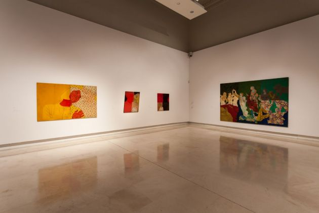 Cesare Tacchi. Una retrospettiva. Exhibition view at Palazzo delle Esposizioni, Roma 2018