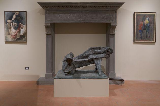 Collezione Roberto Casamonti. Exhibition view at Palazzo Bartolini Salimbeni, Firenze 2018