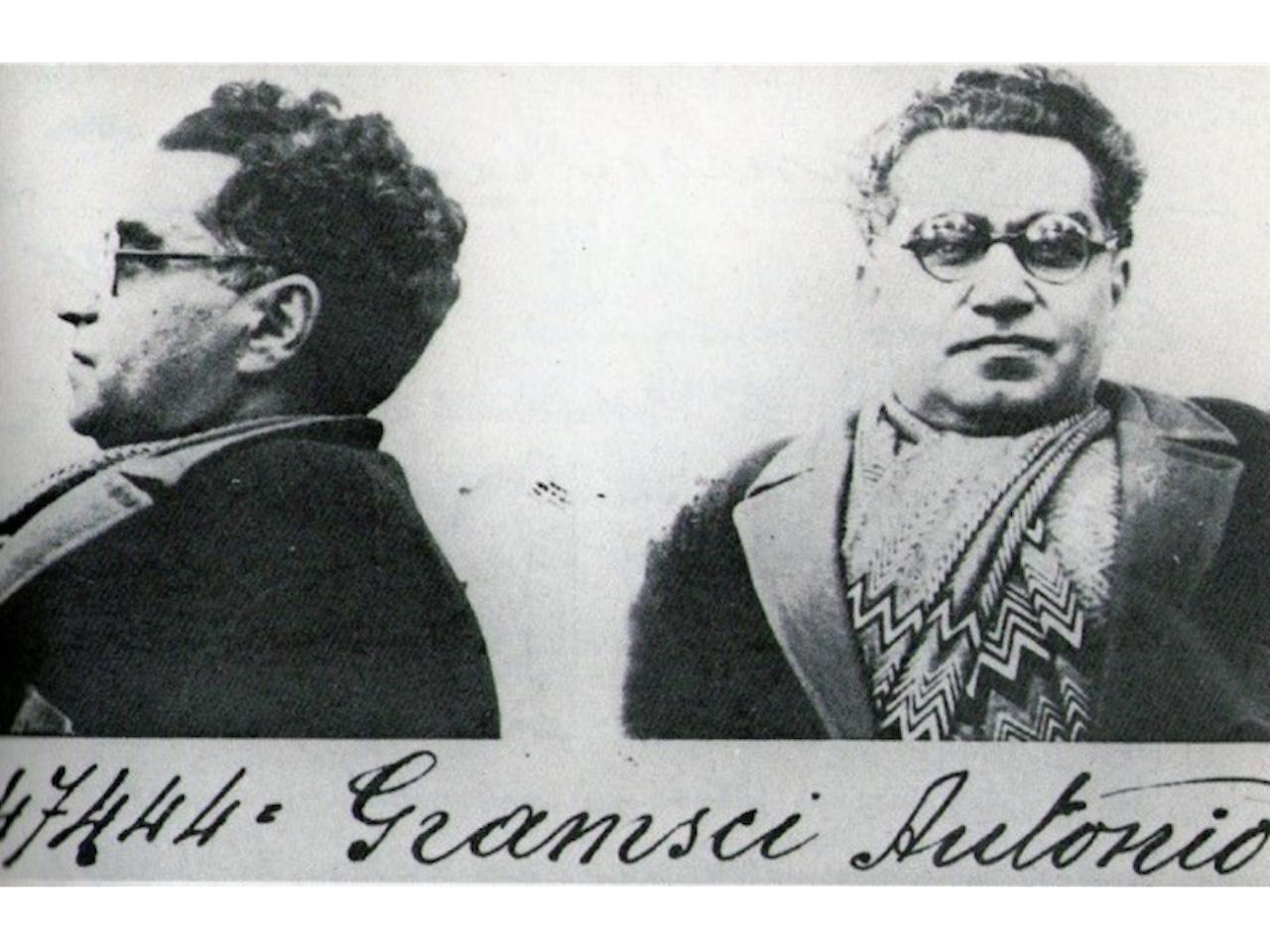 Antonio Gramsci in carcere