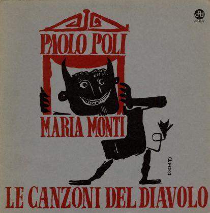 EMANUELE LUZZATI MARIA MONTI PAOLO POLI – Le canzoni del diavolo (CGD, 1965)