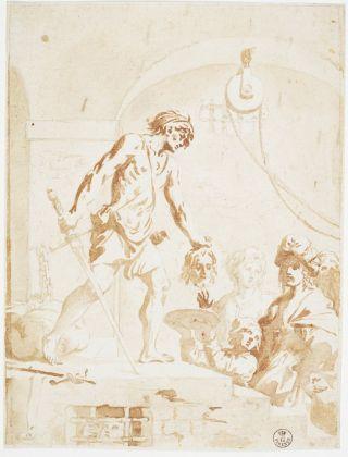 Elisabetta Sirani, Decollazione di San Giovanni Battista. Firenze, Gallerie degli Uffizi, Gabinetto dei Disegni e delle Stampe