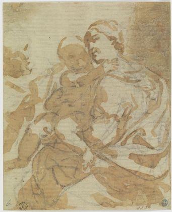 Elisabetta Sirani, Sacra Famiglia. Firenze, Gallerie degli Uffizi, Gabinetto dei Disegni e delle Stampe