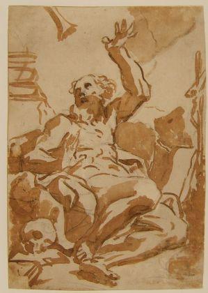 Elisabetta Sirani, San Girolamo. Bologna, Pinacoteca Nazionale, Gabinetto Disegni e Stampe