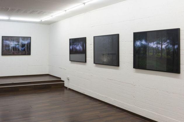 Ellie Davies. Nebulae. Installation view at Galleria Patricia Armocida, Milano 2018