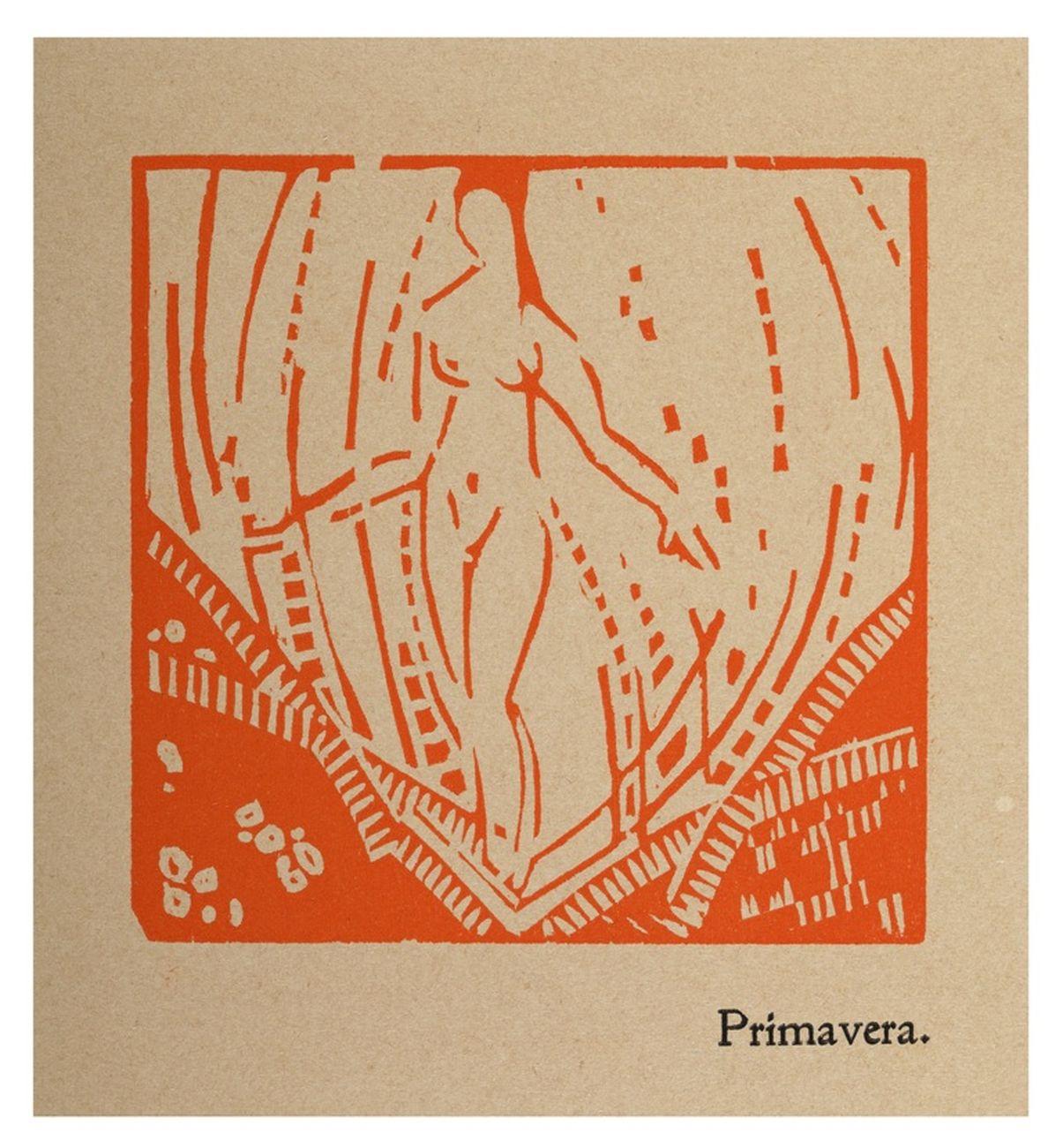 Enrico Prampolini, Primavera, 1916. Roma, Collezione privata
