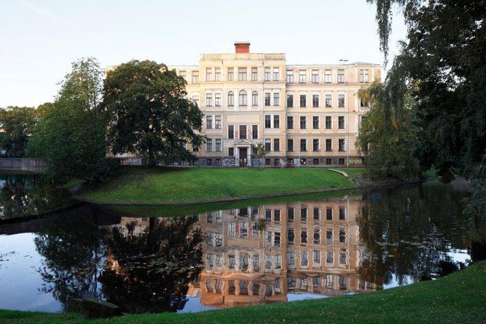 Former Faculty of Biology, University of Latvia, Riga. Photo Ansis Starks. Courtesy of RIBOCA