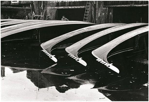 Fulvio Roiter, Venezia, Squero di San Trovaso, 1970 © Fondazione Fulvio Roiter