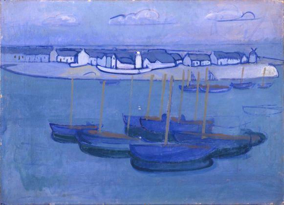 Gino Rossi, Marina – Douarnenez, 1910 ca. Fondazione Musei Civici di Venezia, Galleria Internazionale d'Arte Moderna di Ca' Pesaro