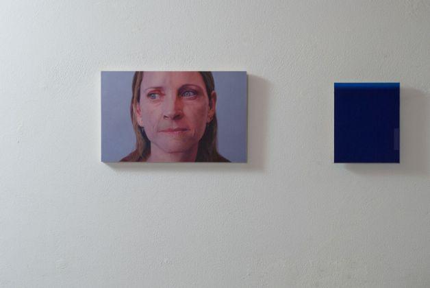 Gabriele Grones e Luca Macauda. Personali matematiche. Exhibition view at Spazio KN, Trento 2018
