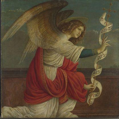 Gaudenzio Ferrari, Angelo Annunciante, 1508-09 © The National Gallery, Londra