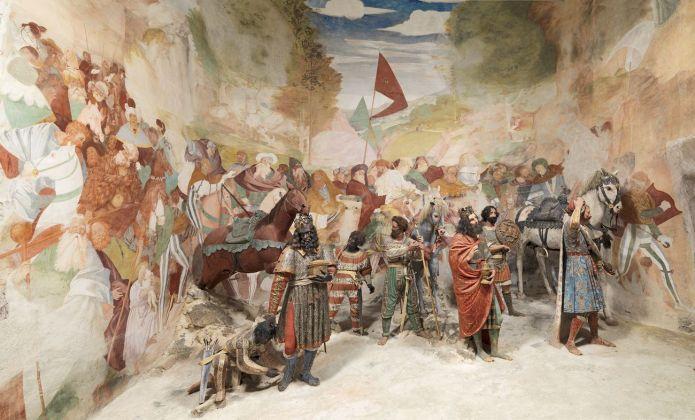 Gaudenzio Ferrari, Arrivo dei Magi, 1525 ca. Cappella 5, Sacro Monte di Varallo. Photo Mauro Magliani, Barbara Piovan, Marco Furio Magliani