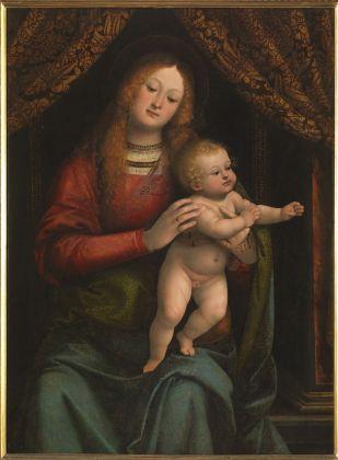 Gaudenzio Ferrari, Madonna con il Bambino, 1517-18 ca. Milano, Pinacoteca di Brera. Photo Mauro Magliani, Barbara Piovan, Marco Furio Magliani