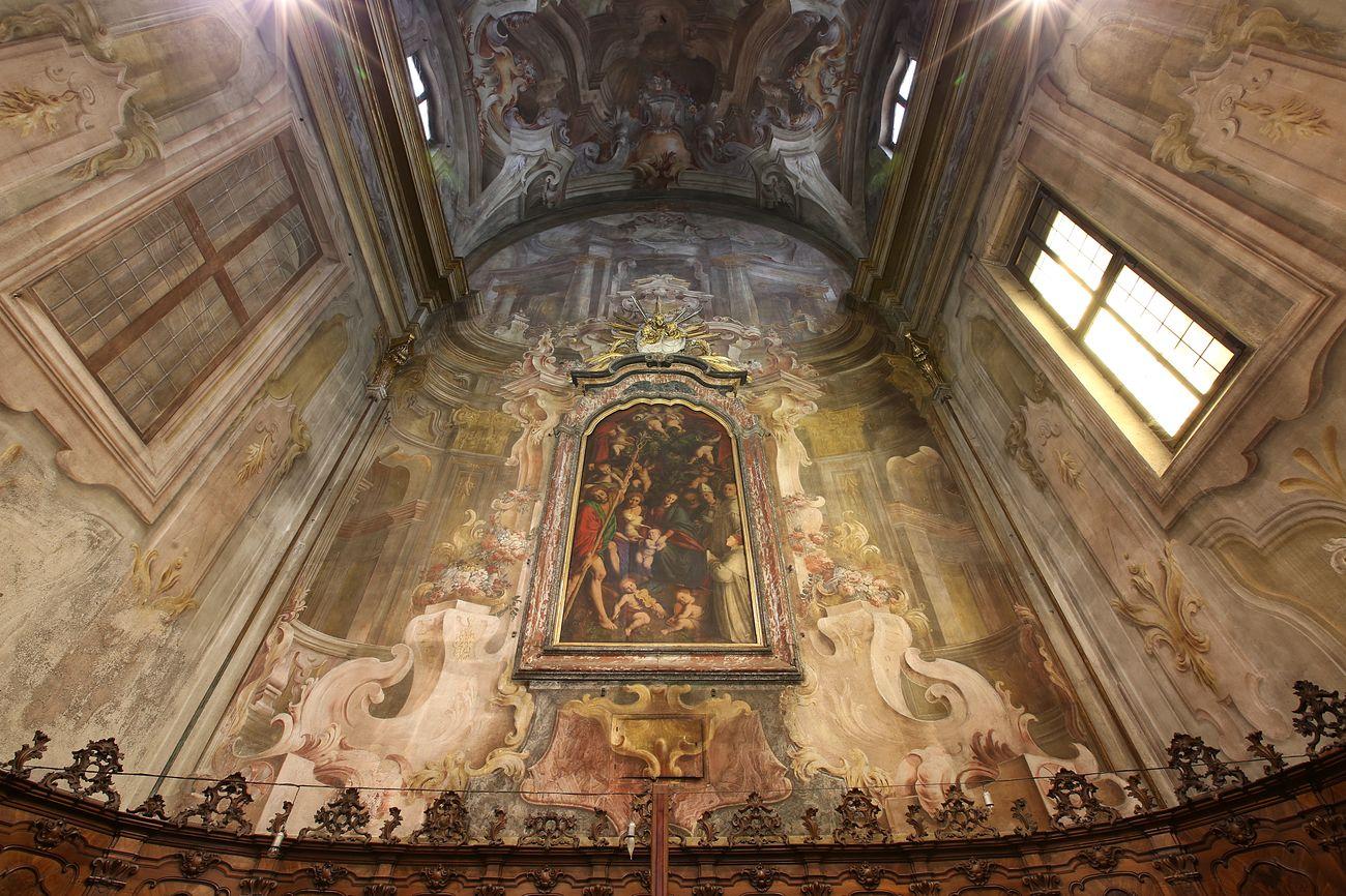 Gaudenzio Ferrari, Madonna degli aranci, 1530 ca. Chiesa di San Cristoforo, Vercelli