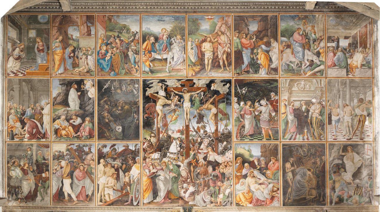 Gaudenzio Ferrari, Storie della vita di Gesù, 1513. Chiesa di Santa Maria delle Grazie, Varallo. Photo Mauro Magliani, Barbara Piovan, Marco Furio Magliani