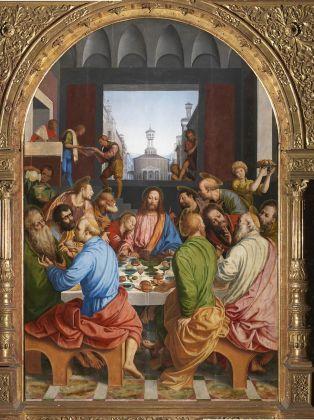 Gaudenzio Ferrari e Giovanni Battista Della Cerva, Ultima Cena, 1544-46. Milano, Santa Maria della Passione. Photo Mauro Magliani, Barbara Piovan, Marco Furio Magliani