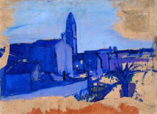 Gino Rossi, Burano, 1912-14. Collezione Fondazione Cariverona. Archivio Fotografico Fondazione Cariverona, photo Saccomani