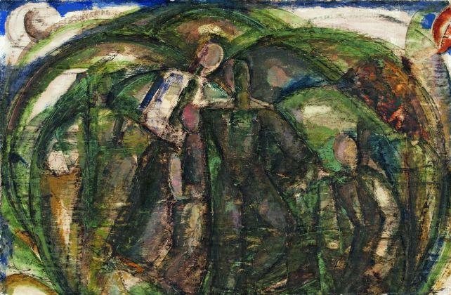 Gino Rossi, Composizione, 1923-25. Collezione Fondazione Cariverona. Archivio Fotografico Fondazione Cariverona, photo Saccomani