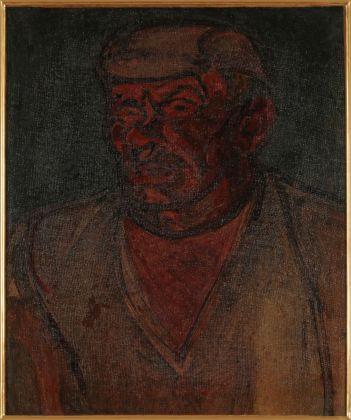 Gino Rossi, Il bruto, 1913. Collezione Fondazione Cariverona. Archivio Fotografico Fondazione Cariverona, photo Mauro Giovene