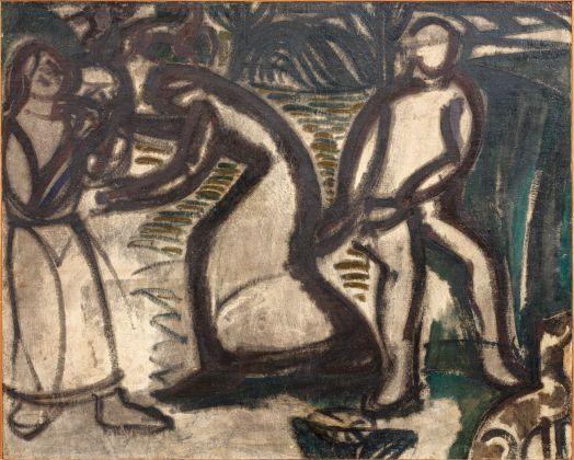 Gino Rossi, Il ritorno, 1922. Collezione Fondazione Cariverona. Archivio Fotografico Fondazione Cariverona, photo Saccomani