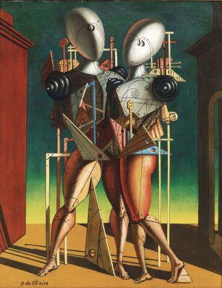 Giorgio de Chirico, Ettore e Andromaca, 1950. Collezione Roberto Casamonti, Firenze