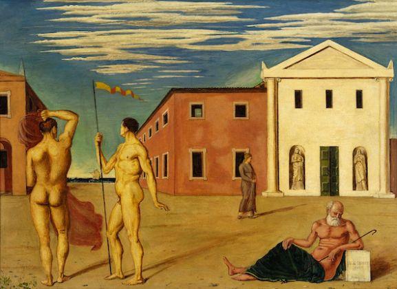 Giorgio de Chirico Il saluto degli argonauti partenti, 1920