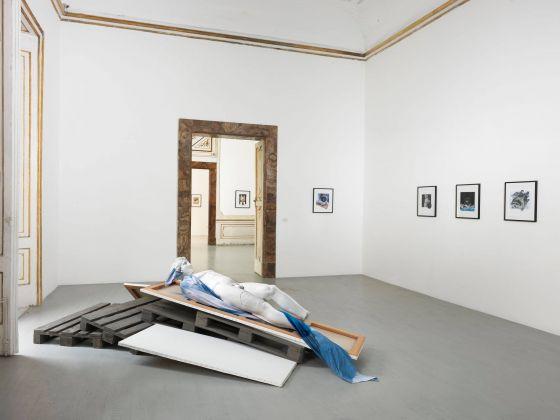 Giulio Paolini, Ermafrodito. Installation view at Galleria Alfonso Artiaco, Napoli 2018