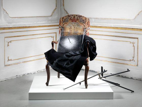 Giulio Paolini, Estasi di San Sebastiano. Installation view at Galleria Alfonso Artiaco, Napoli 2018