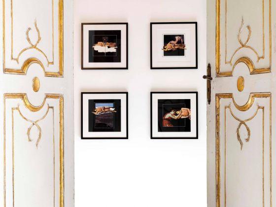 Giulio Paolini, Quattro studi per Narciso. Installation view at Galleria Alfonso Artiaco, Napoli 2018