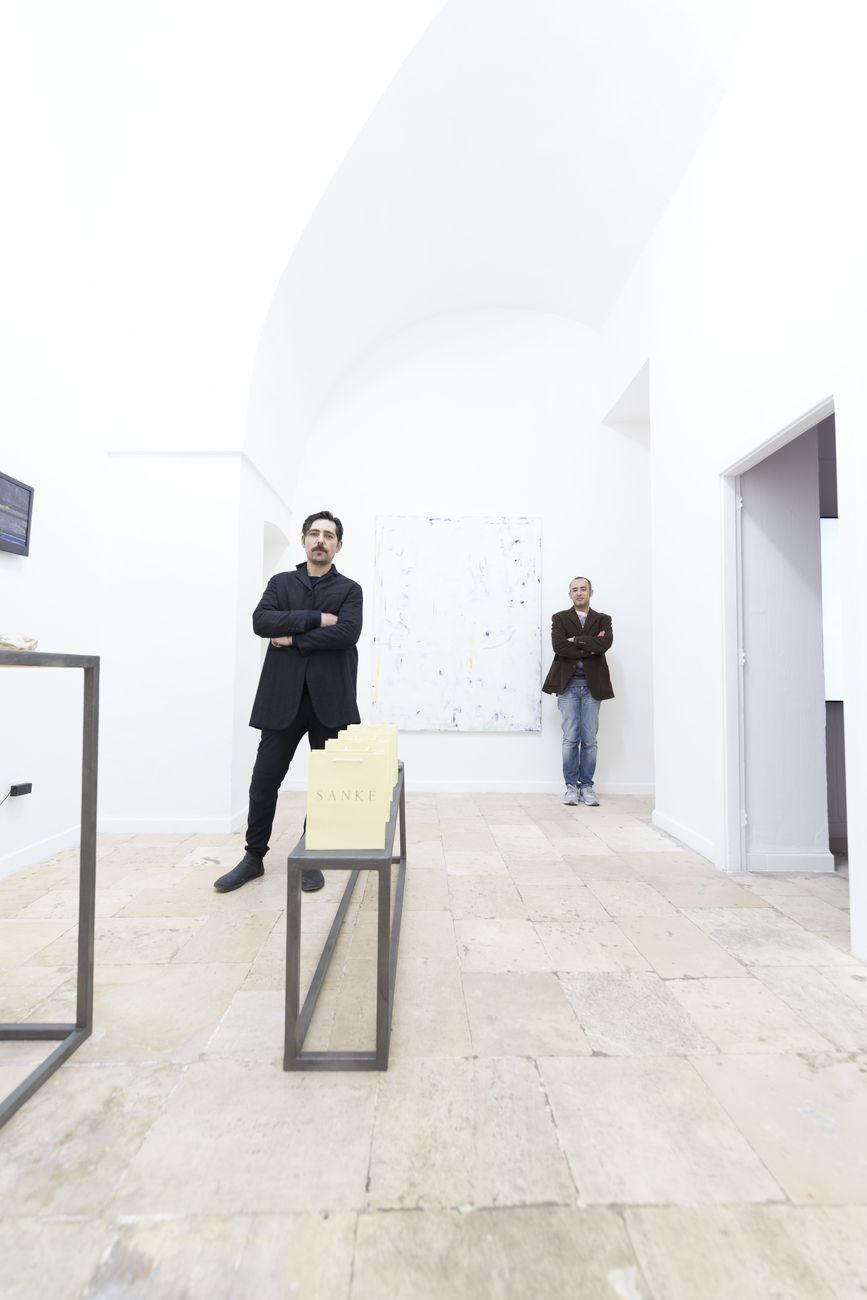 Giuseppe Pinto e Paolo Modugno, fondatori del progetto Like A Little Disaster. Photo L.A.L.D.